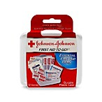 Johnson & Johnson Red Cross® First Aid to Go!® First Aid Kit