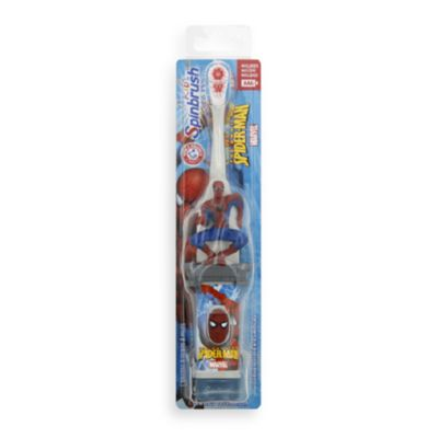 Crest Kids Spiderman Battery Operated Spinbrush
