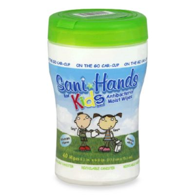 Sani Hands® Kids Instant Hand Sanitizer Wipes (40 Count)