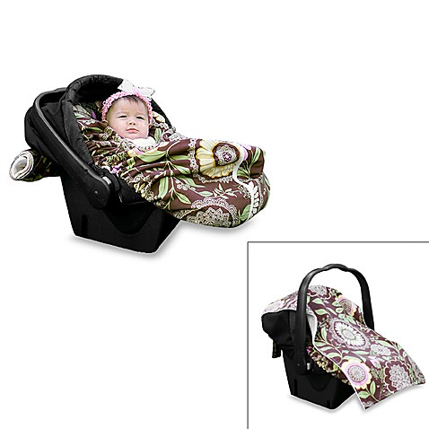 Snuggle MezTM Infant Car Seat Cover And Snuggler