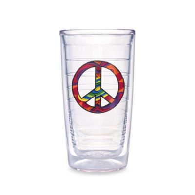 Tervis® Tie Dye Peace Sign 16-Ounce Tumbler (Set of 4)
