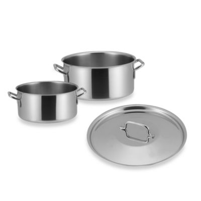 Sitram® Catering Stainless Steel 11-Quart Braisier