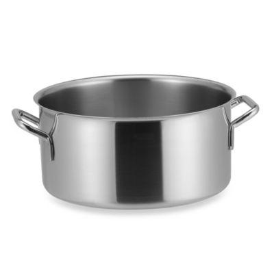 Sitram® Catering Stainless Steel 11-Quart Braisier