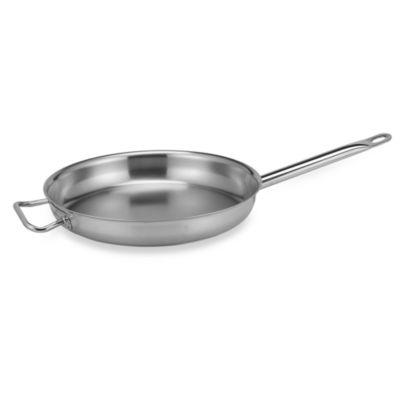 Sitram Profiserie 13 1/2-Inch Fry Pan in Stainless Steel