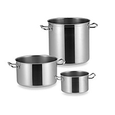 Sitram® Profiserie Stainless Steel Half Stock Pot