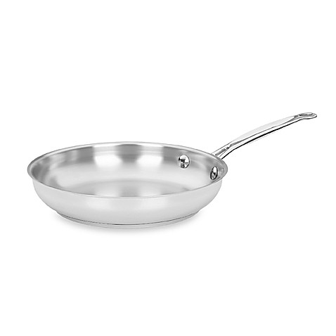 Cuisinart® Chef's Classic™ Stainless Steel Open Skillet - BedBathandBeyond.com
