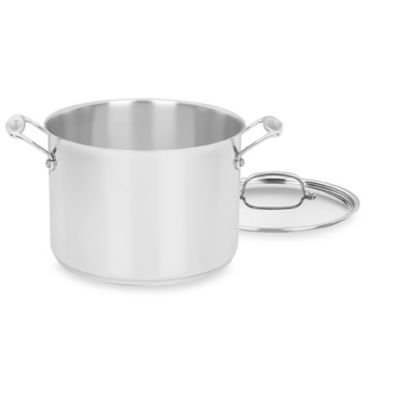Cuisinart® Chef's Classic™ Stainless Steel 8-Quart Stock Pot with Cover