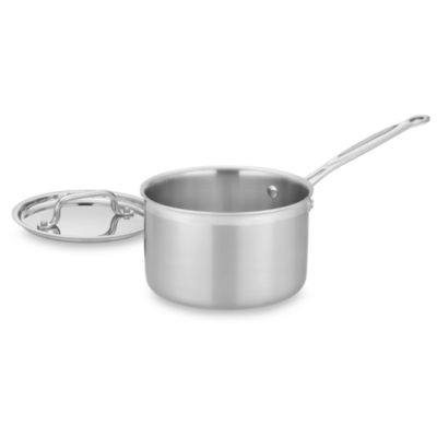 Cuisinart® MultiClad Pro Triple-Ply Stainless 4-Quart Saucepan with Lid