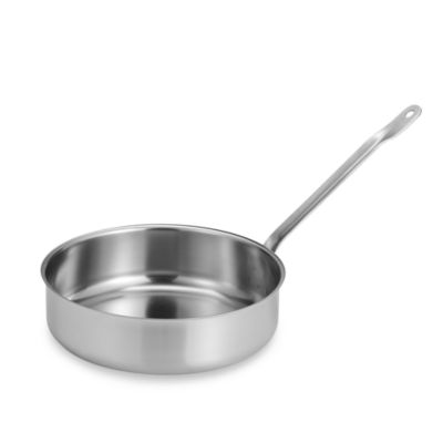 Sitram® Catering Stainless Steel 5-Quart Saute Pan