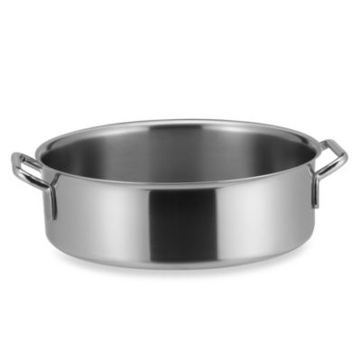 Sitram® Catering Stainless Steel 11.4-Quart Rondeau Pot