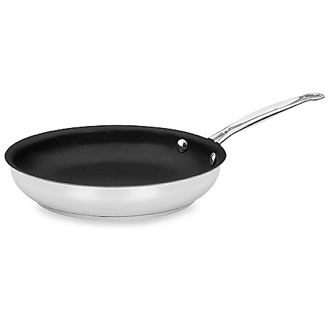 Cuisinart® Chef's Classic™ Stainless Steel Nonstick 10-Inch Skillet