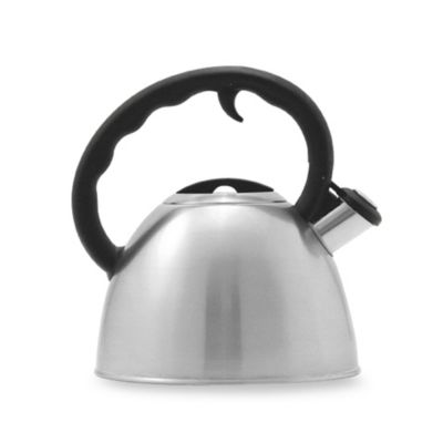 Remedy® Metro 1.5-Quart Brushed Stainless Steel Tea Kettle