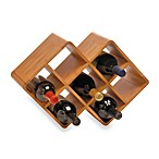 8-Bottle Bamboo Wine Rack