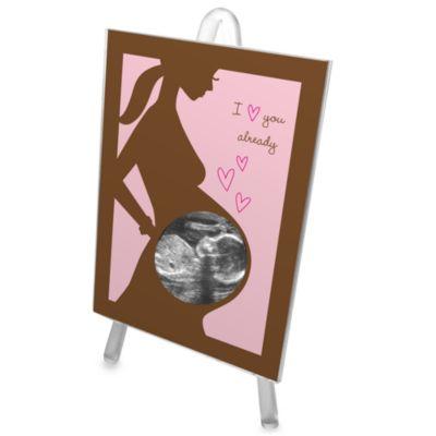 Bonnie Marcus Sonogram Frame in Pink