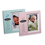 It's A Girl/Boy 4-Inch x 6-Inch Plaque Frames