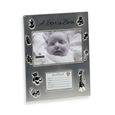 Malden® A Star is Born 4-Inch x 6-Inch Frame