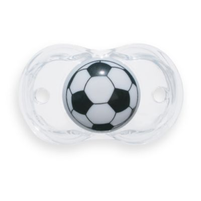 RaZbaby® Keep-it-Kleen Soccer Ball Pacifier, BPA Free