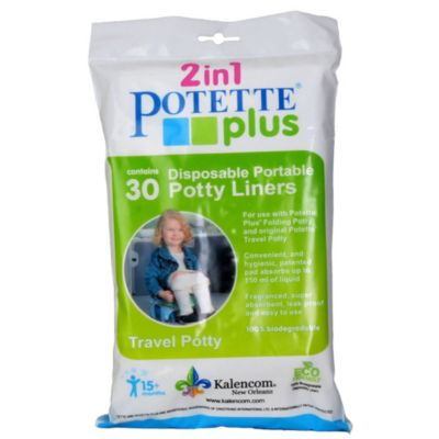 Potette® Plus Trainer Seat Liner Refills (Package of 30) in Neutral
