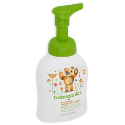 BabyGanics® The Germinator 250ml Alcohol-Free Foaming Hand Sanitizer in Tangerine Scent