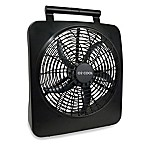 O2COOL® Black Battery Operated Fan