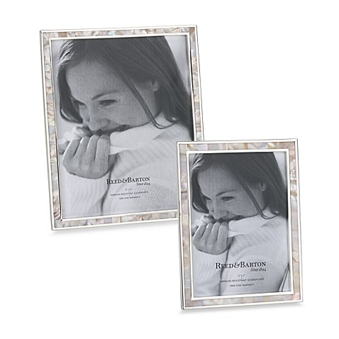 Pink Mother of Pearl Photo Frame