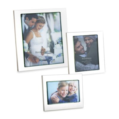 Reed and Barton® Addison 4-Inch x 6-Inch Photo Frame