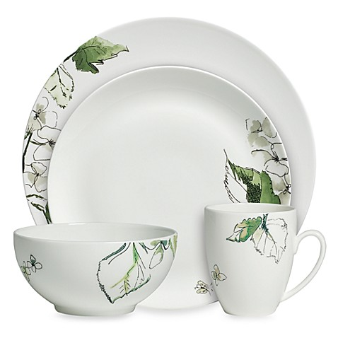 Vera Wang Wedgwood® Floral Leaf 4-Piece Place Setting