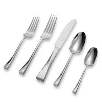 Sambonet-Rosenthal Twist 5-Piece Flatware Place Setting
