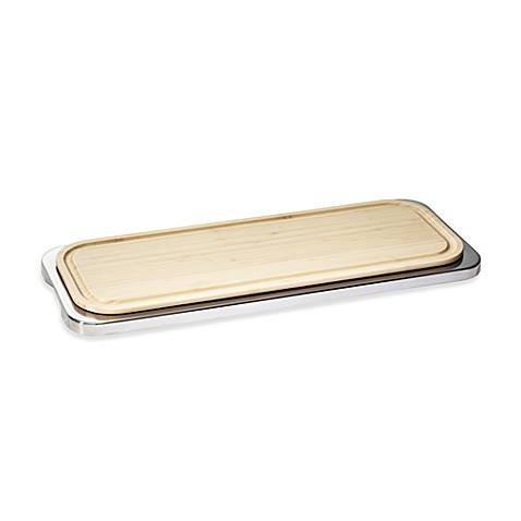 Linear Sambonet Tray with Cutting Board