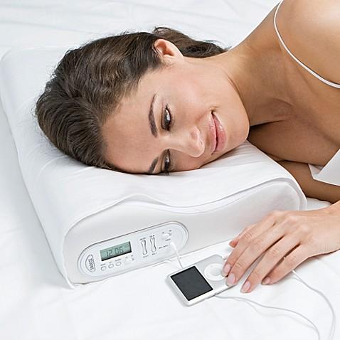 The Sharper Image 174 Sleep Sounds Pillow Bed Bath Amp Beyond
