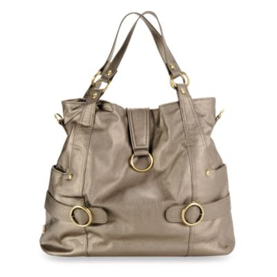 timi & leslie® Hannah Diaper Bag in Pewter