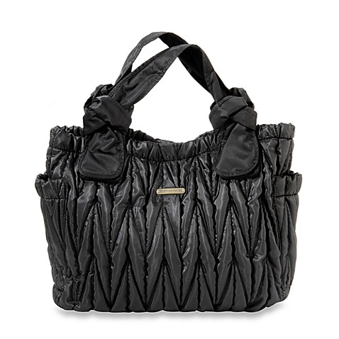 timi & leslie® Marie Antoinette II Diaper Bag in Black