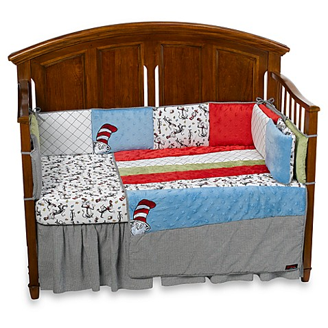 Trend Lab® Cat in the Hat 4-Piece Crib Bedding Set