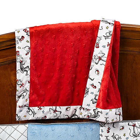 Trend Lab® Dr. Seuss Cat in the Hat Receiving Blanket