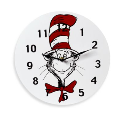 Trend Lab® Dr. Seuss Cat in the Hat Wall Clock