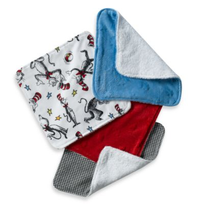 Trend Lab® Dr. Seuss Cat in the Hat Washcloths (Set of 5)