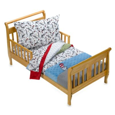 Trend Lab® Dr. Seuss Cat in the Hat 4-Piece Toddler Bedding Set