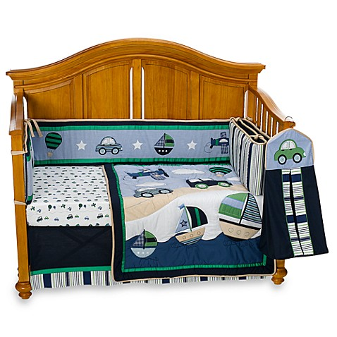 Cambridge 6-Piece Crib Bedding Set