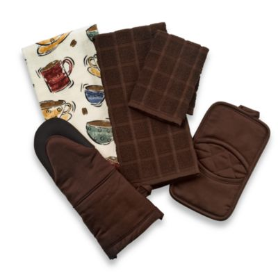 Kitchensmart® Solid Oven Mitt in Chocolate