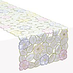 Spring Flower Cutwork Runner