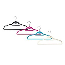 Real Simple Slimline Hangers with Built-in Hooks (Set of 50)