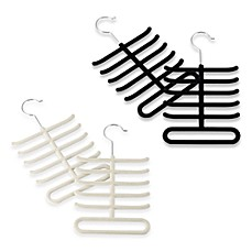 Real Simple®  Slimline Tie Hangers (Set of 2)