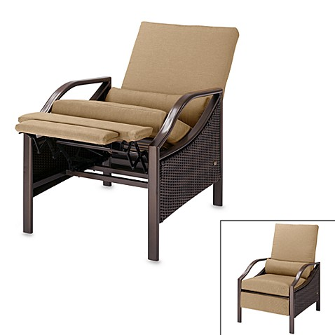 la z boy stanford outdoor recliner this attractive outdoor recliner