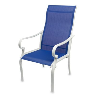 Blue Sling Chair (Set of 2)