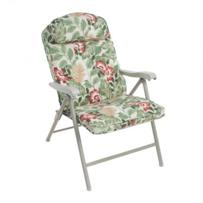 Padded Floral Chair (Set of 2)