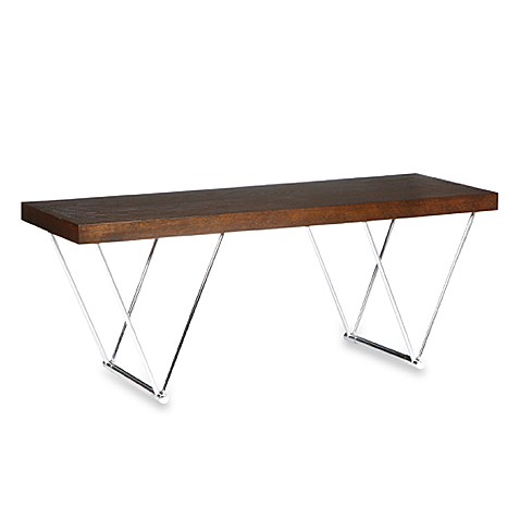 Bristol Espresso Chrome Bench