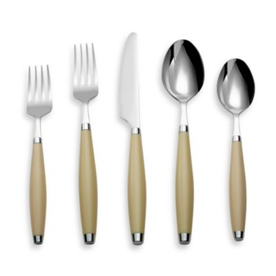 Cambridge® Silversmiths Fiesta Flatware 5-Piece Place Setting in Ivory