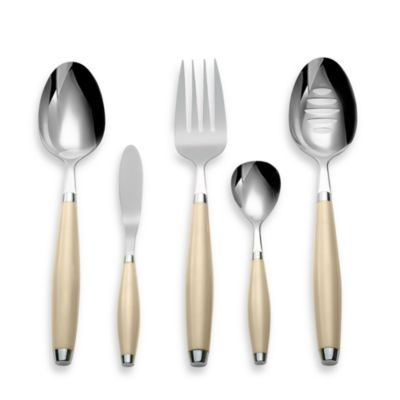 Cambridge® Silversmiths Fiesta Flatware 5-Piece Hostess Set in Ivory