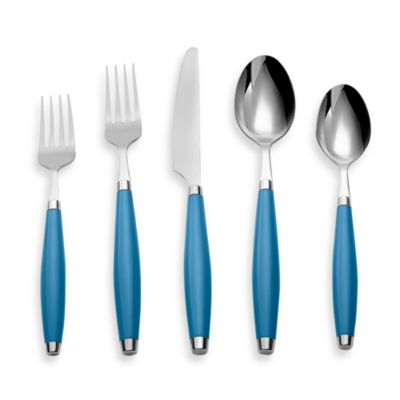 Cambridge® Silversmiths Fiesta Flatware 5-Piece Place Setting in Peacock