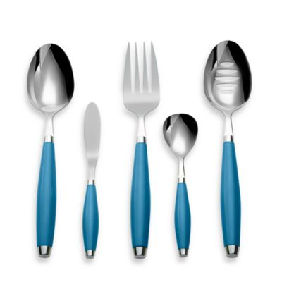 Cambridge® Silversmiths Fiesta Flatware 5-Piece Hostess Set in Peacock